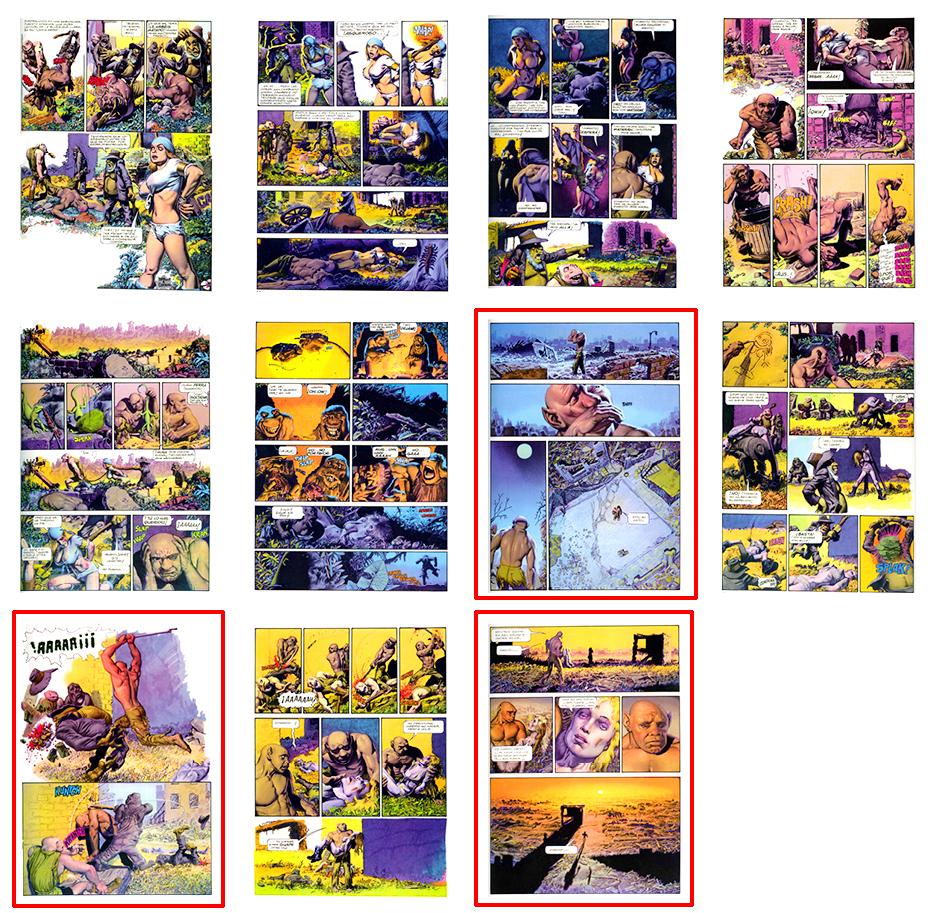 Mutant World, SPA, Part 4, 11 pgs
