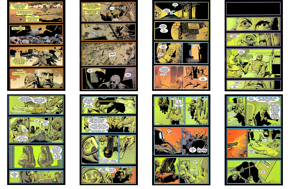 The Punisher, Part 4, 8 pgs