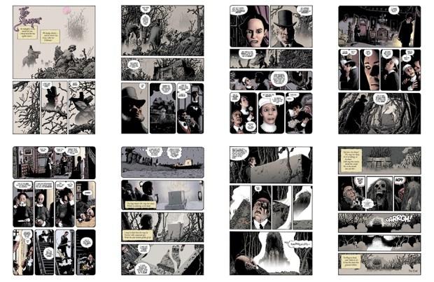 The Sleeper [II], 8 pgs