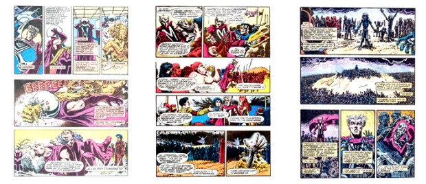 X-Men: Heroes for Hope, 3 pgs