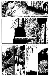 Hellboy: The Crooked Man. Original Art Plate