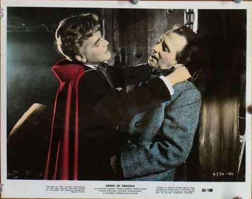 Vampire Strangling a Victim