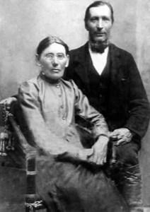 Fredrik Niva l. Pasma (1855-1916) ja Stiina-KaisaJoona (1853-1922).