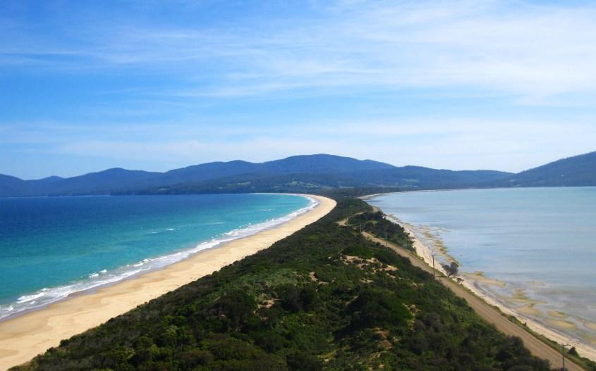 Tasmania matkailuautolla | The Neck, Bruny Island
