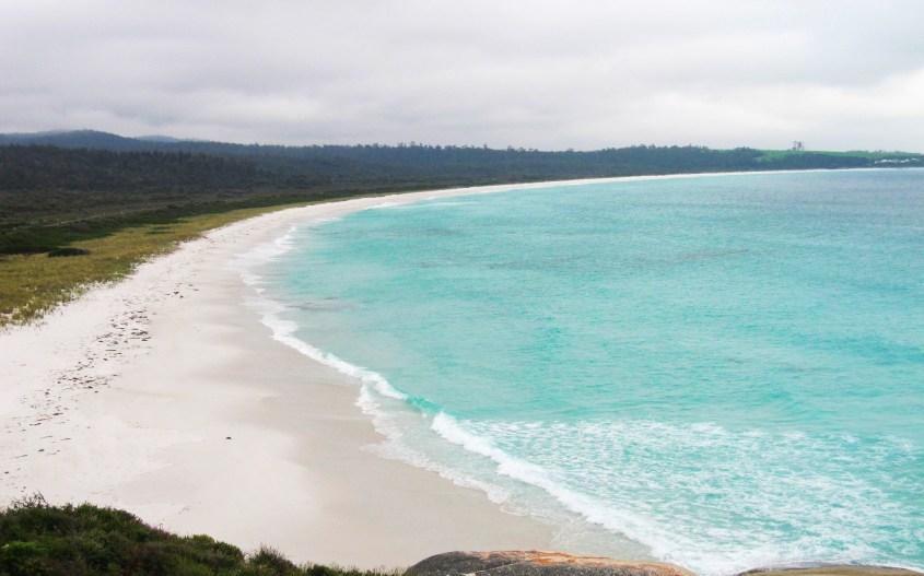 Tasmania kokemuksia | Bay of Fires