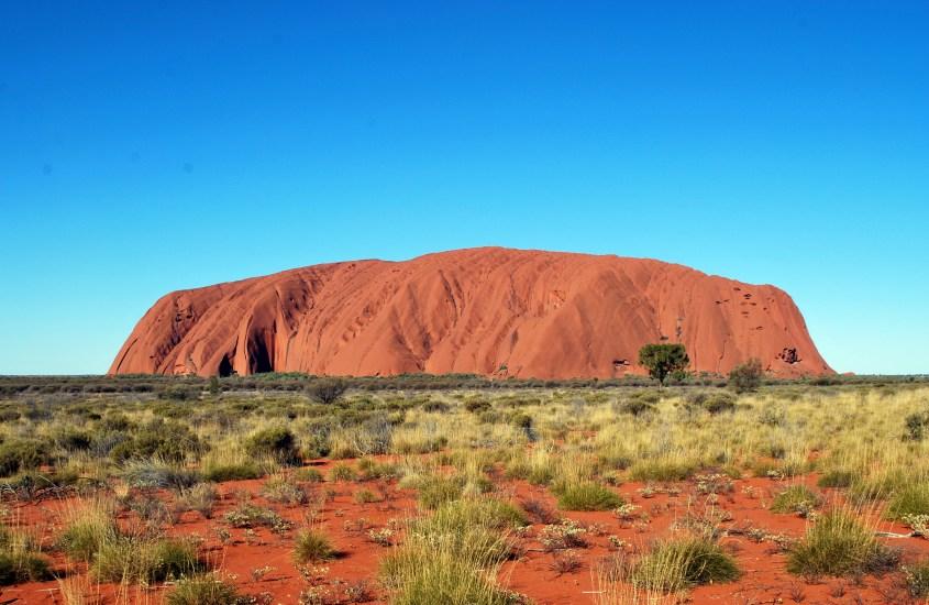 Uluru, Ayers Rock eli se iso punainen kivi