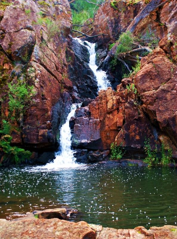 Vesiputous Grampians National Parkissa