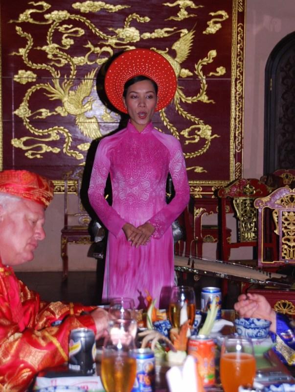 Kuninkaallinen päivällinen Huessa Vietnamissa
