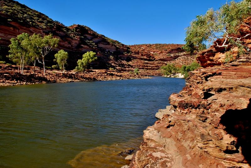 kalbarri, länsi-australia