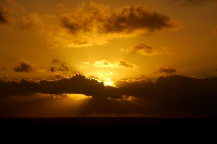 auringonlasku länsi-australiassa