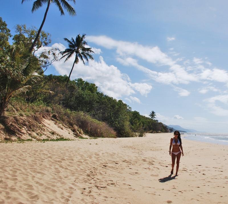 Cairnsin rannoilla