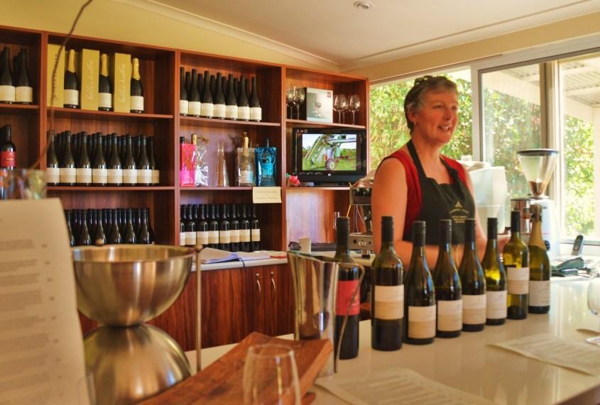 Yarra Valleyn viinitilalla