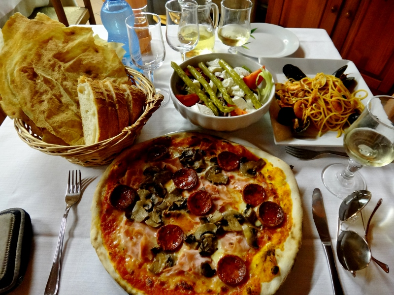Italialaista ruokaa