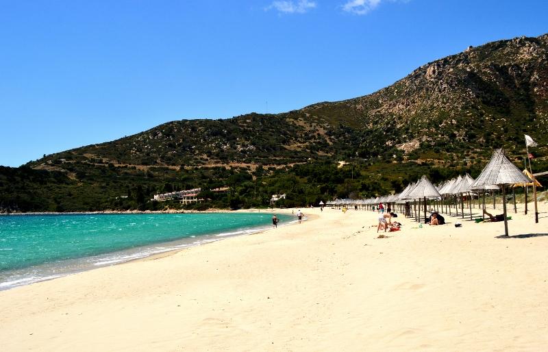 Sardinian etelärannikolla