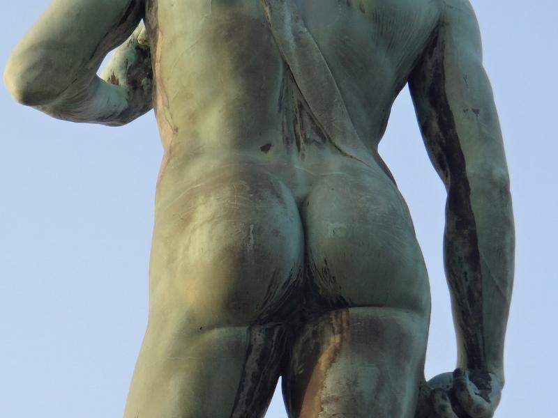 Daavid-patsaan kopio