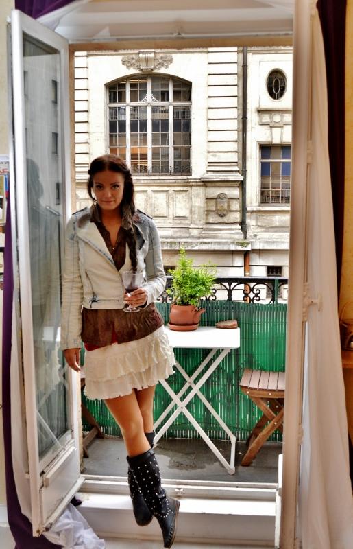 Parveke Pariisissa