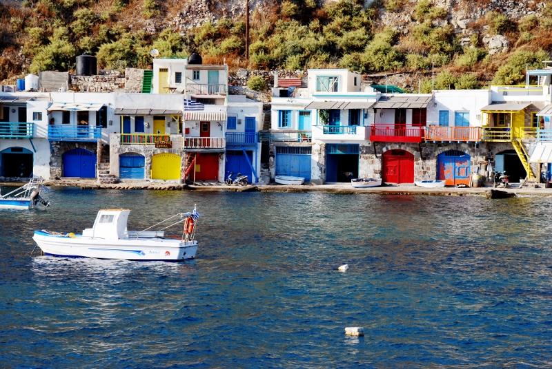 Kreikan värikkäitä pikkukyliä
