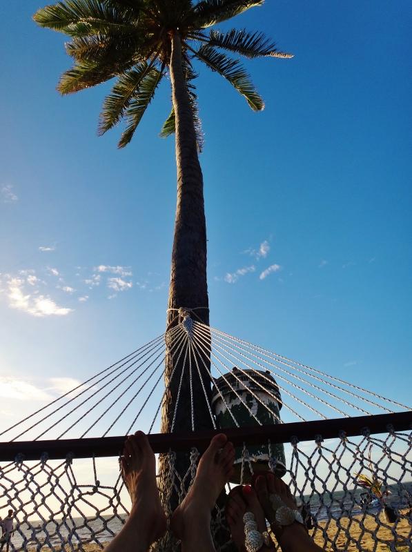 Riippukeinussa Fidzillä