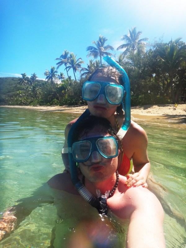 Snorklausta Fidzillä