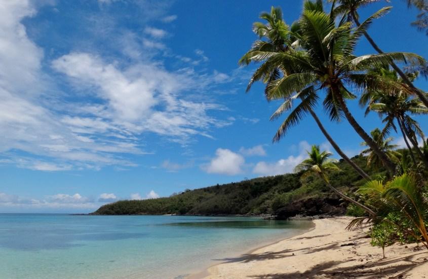 Saarihyppely Fidzin Yasawa-saaristossa