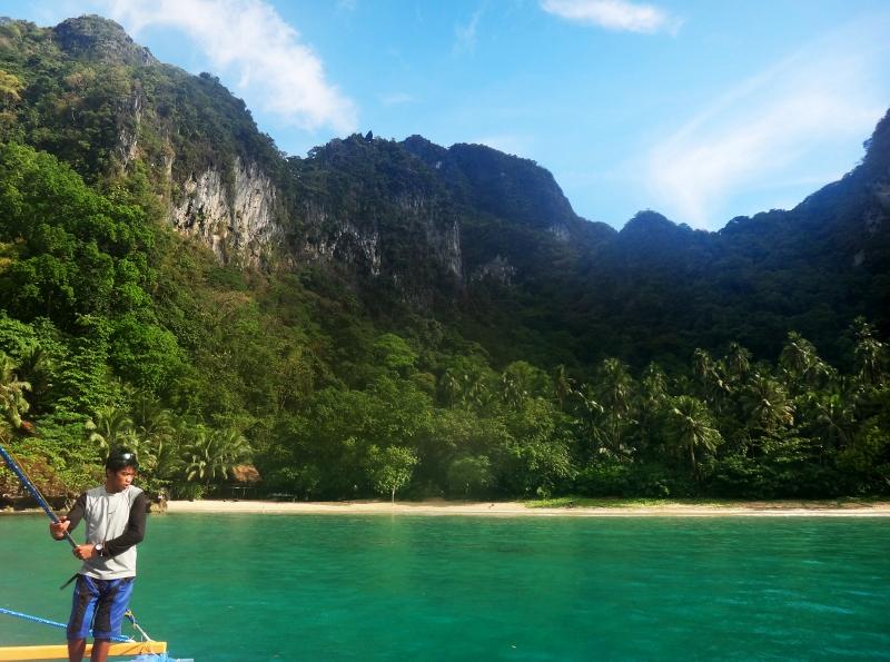 Saarihyppelyä Palawanilla