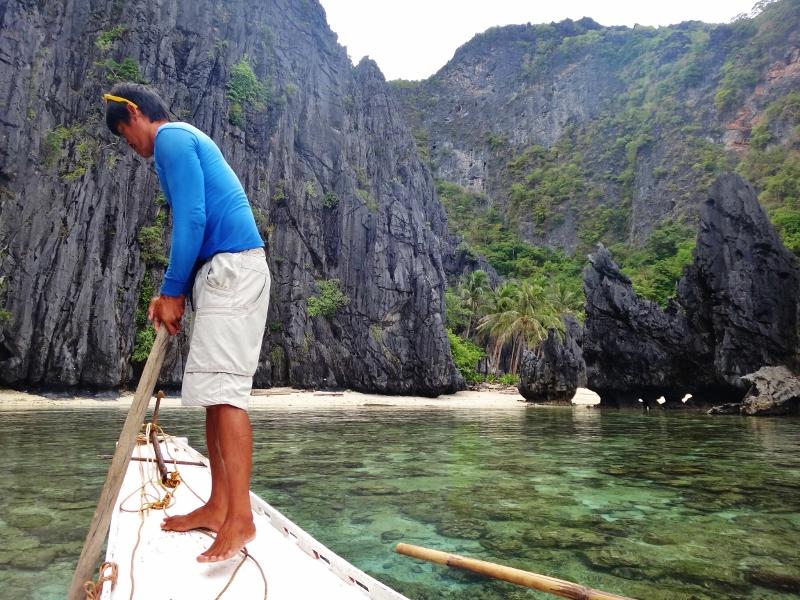 Saarihyppely El Nidossa Filippiineillä