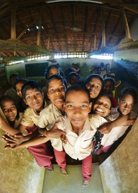 intialaisessa koulussa