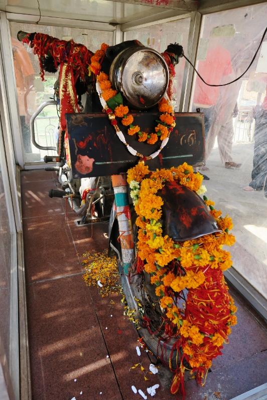 Intian moottoripyörätemppeli