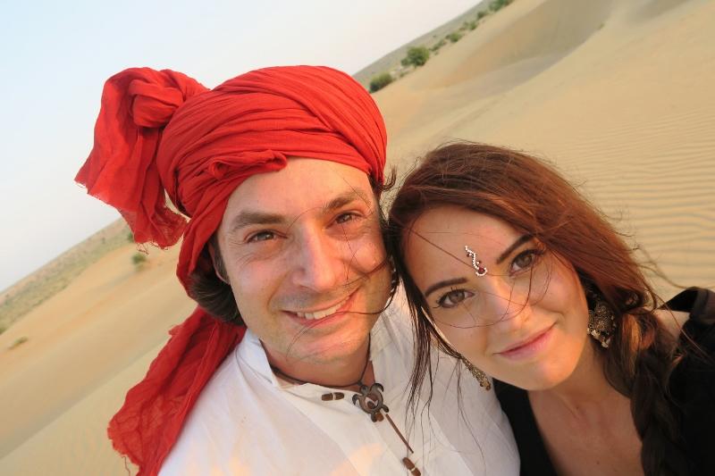 Jaisalmer aavikko