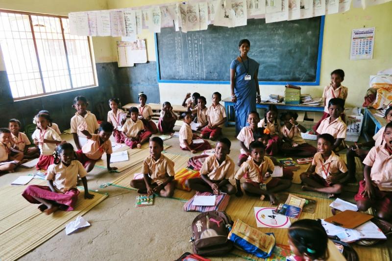 intialainen koulu