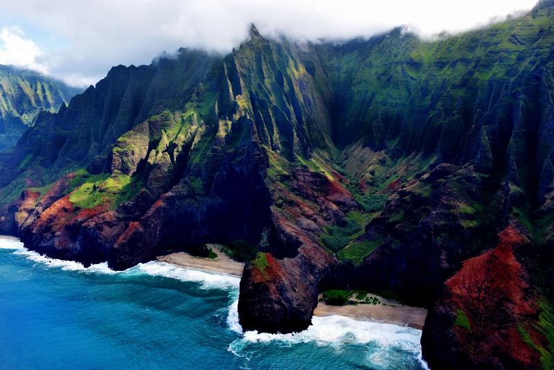 Na Palin rannikko, Kauai
