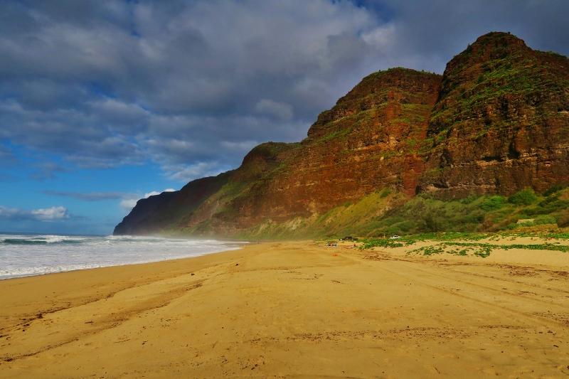Kauain rantaa, Havaiji