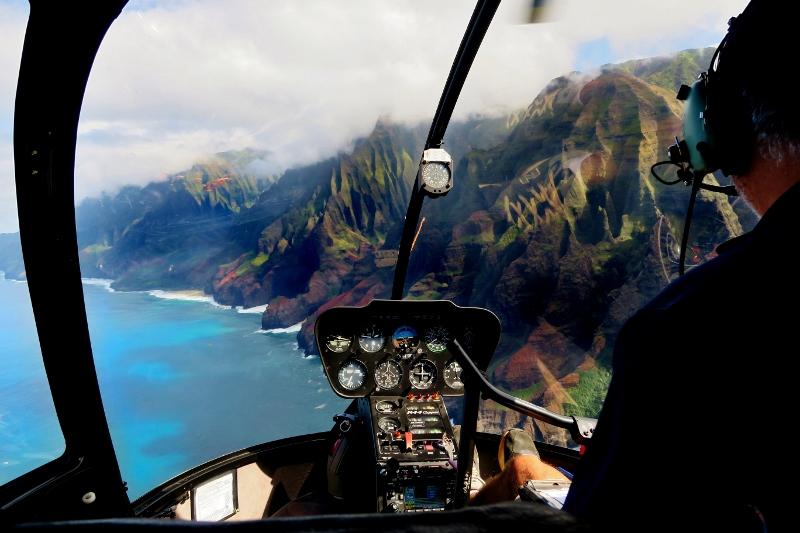 Helikopterilla ympäri Havaijia