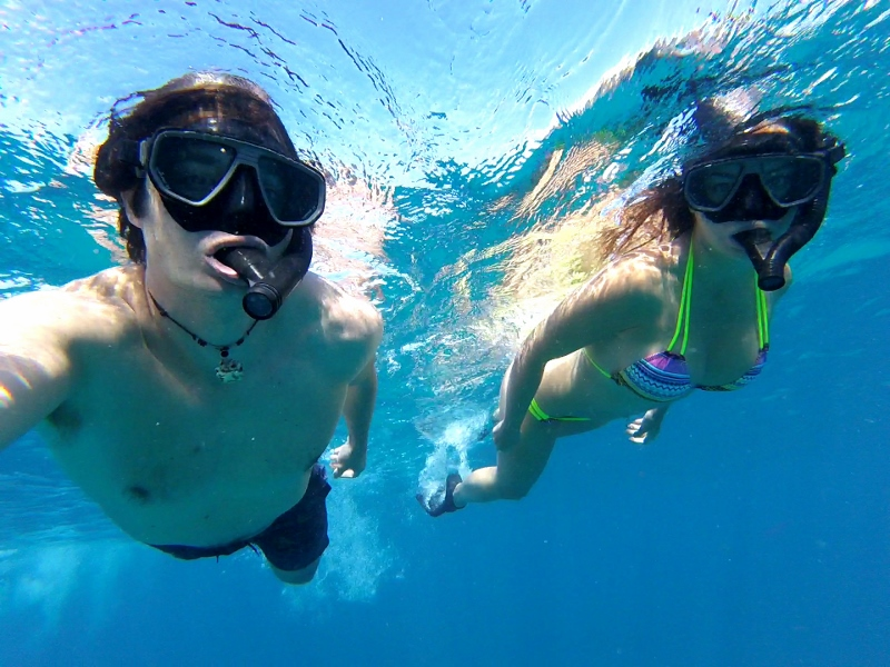Snorklausta Oahun saarella