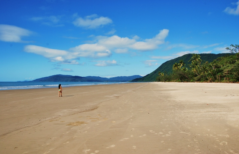 Cape Tribulationin rantoja