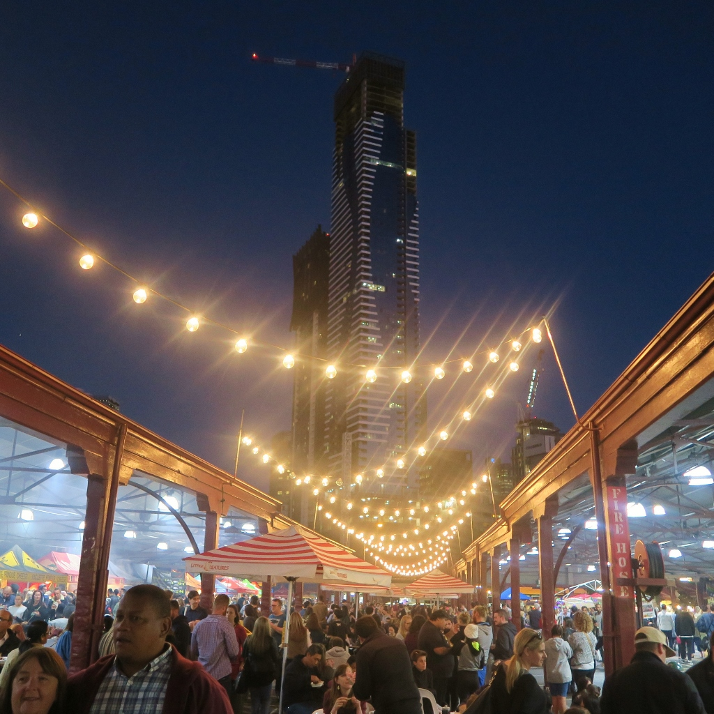 Night Market, Melbourne