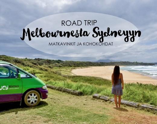 Melbourne Sydney road trip