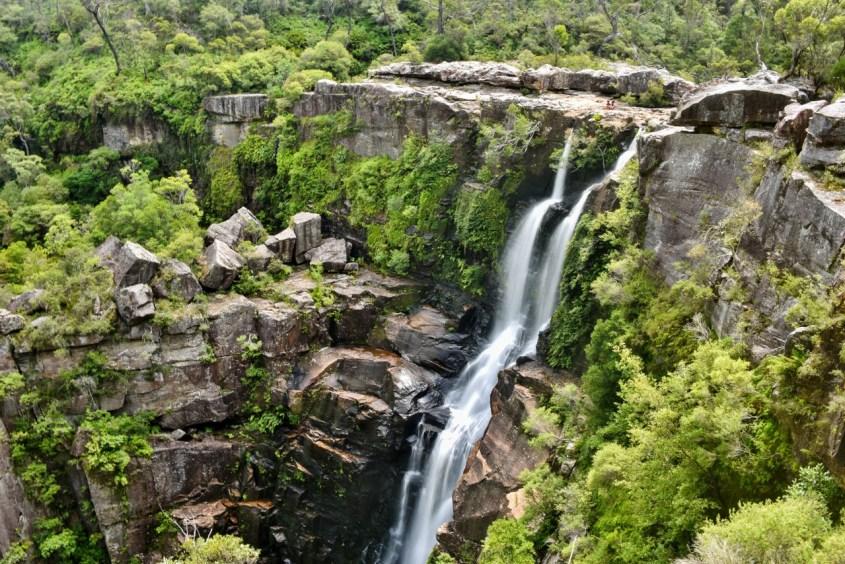 Salaisella vesiputouksella Australia