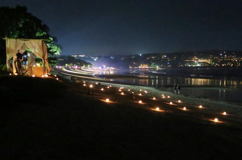 Romanttinen illallinen Balilla