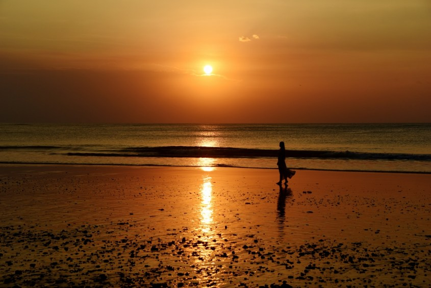 Jimbaran Bay, Balin parhaat auringonlaskut