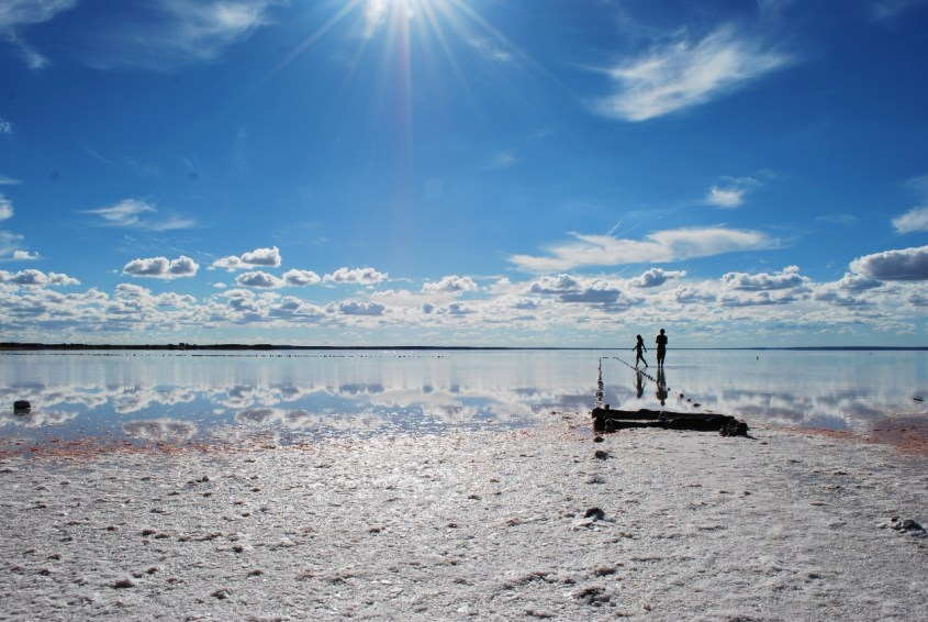 Australian suolajärvet