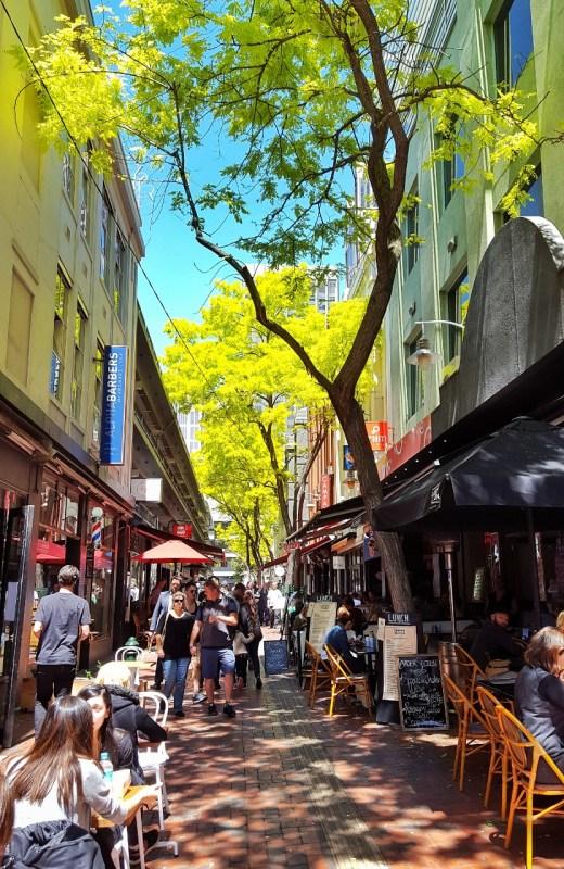 Melbournen kujilla