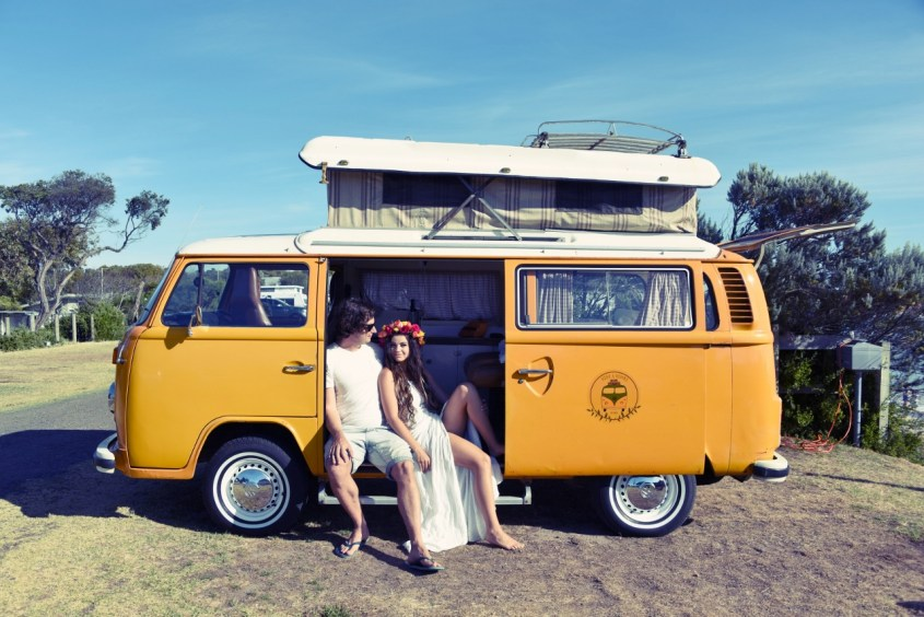 Volkswagen Kombi road trip