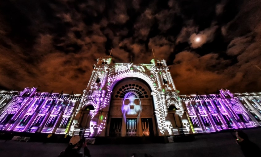 Royal Exhibition Building White Night 2017