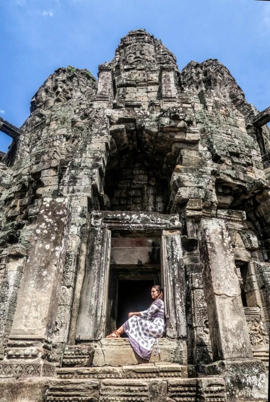 Bayon, Angkor, Siem Reap, Kambodza