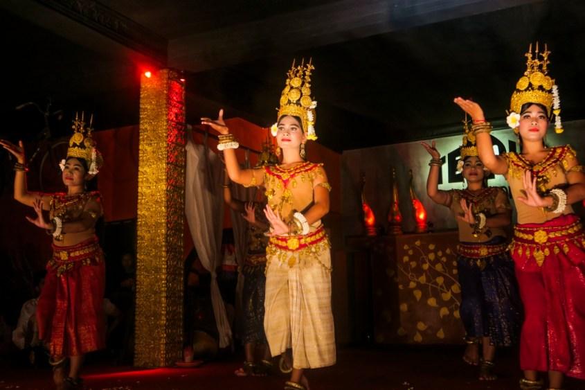 Apsara esitys, Siem Reap