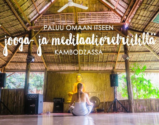 jooga- ja meditaatioretriitti Kambodza
