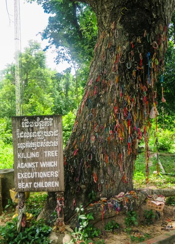 Kambodza kuoleman kentat