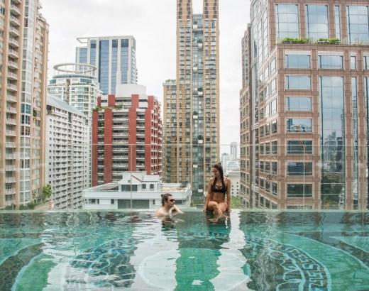 Ihana hotelli Bangkokissa