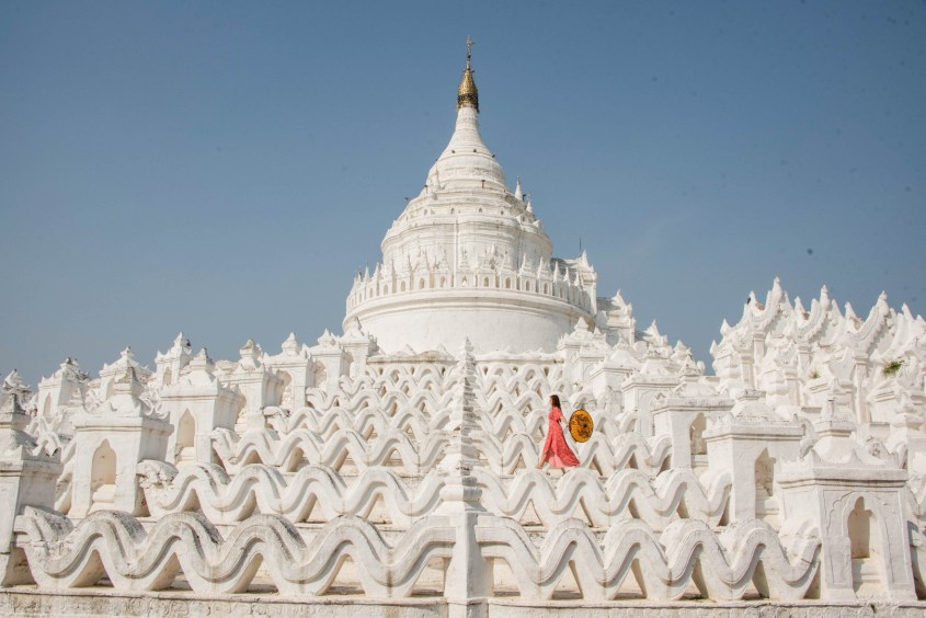 Mandalay white temple